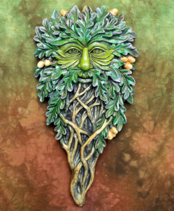All Seeing Oak Wall Plaque